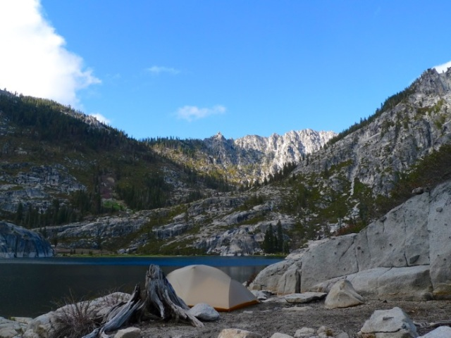 Upper Canyon Creek Lake Camp